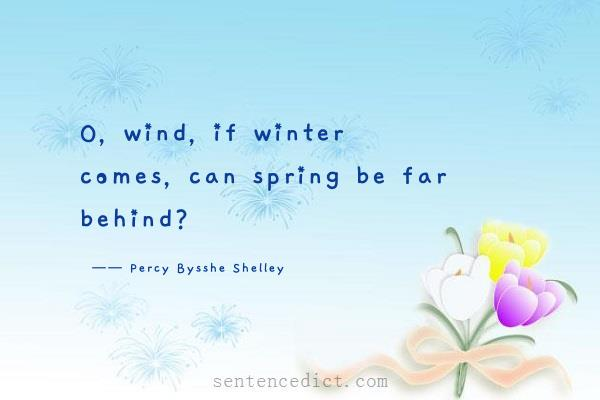 if winter comes can spring be far behind essay