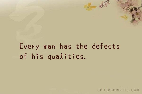 good qualities in a man